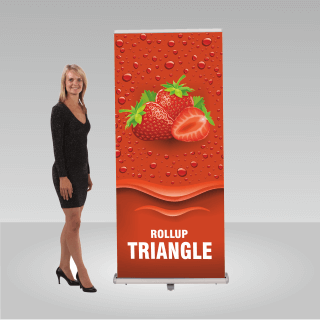 RollUP-Display TRIANGLE